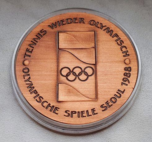 H24) NIEMCY - medal Steffi Graf - 1988 r.