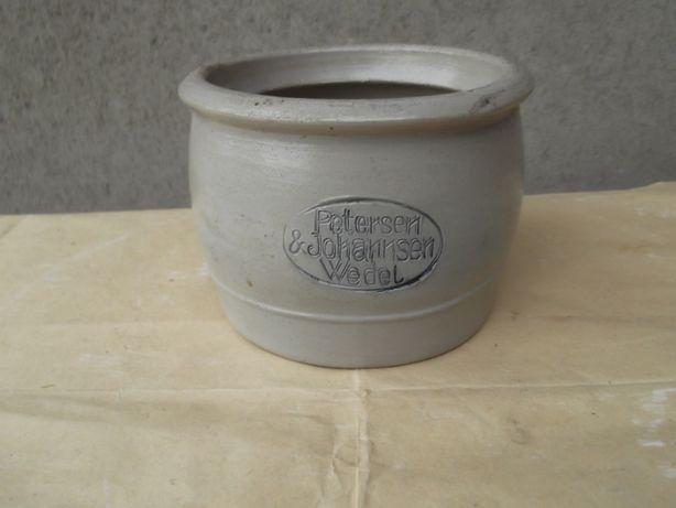 Pojemnik Ceramiczny Na Margarynę .Lata 30