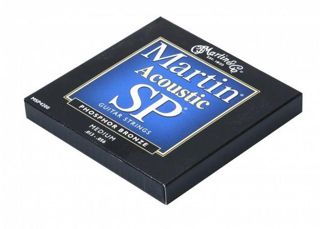 Martin MSP4200 struny do gitary akustycznej 13-56