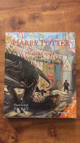 Harry Potter i Czara Ognia wersja ilustrowana