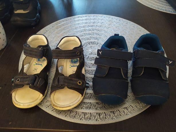 Sandałki adidasy dla chłopca Rozmiar 22