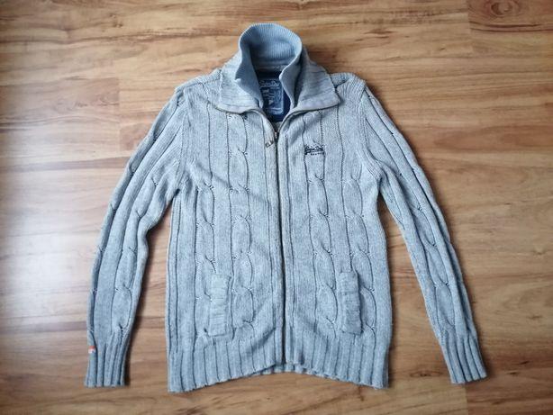 Elegancki sweter wełniany XL