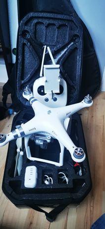 Dron Dji Phantom 3 Advanced - bateria - plecak - cały zestaw