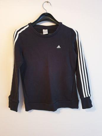 Bluza damska czarna Adidas S z kieszeniami
