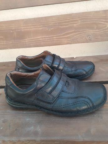 Мужские туфли кожанные 44 разм(29 см)