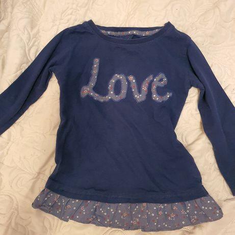 2 x Sukienka, t-shirt z długim rękawem, t-shirt z krótkim