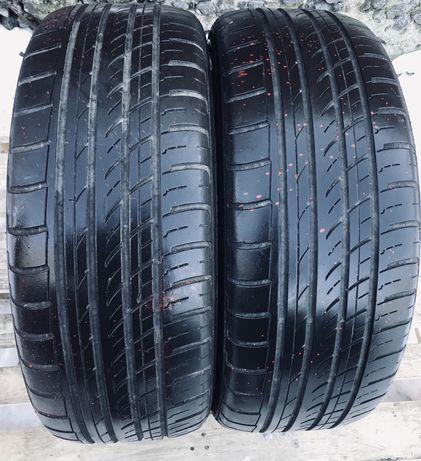 Шины 215/55r17 2 шт лето резина шины б/у склад