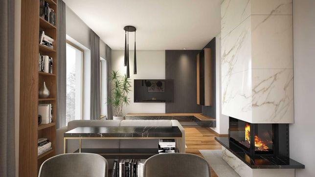 Dom w lawendowym zaciszu | Słomniki | 107 m2+Garaż | 4,9 ar