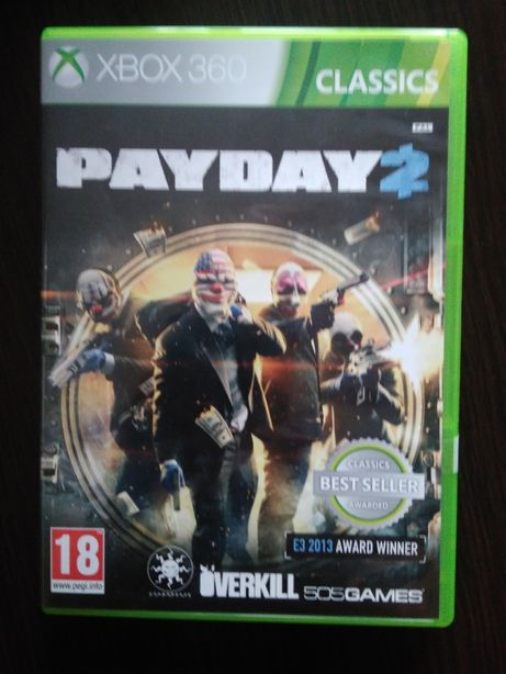 Pay Day 2 xbox 360