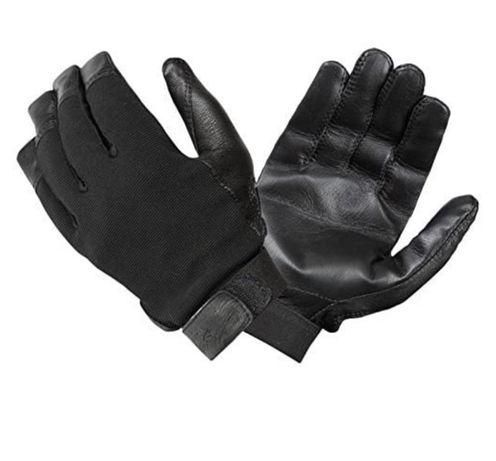 Turtleskin rękawice rękawiczki czarne skóra M