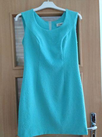 Miętowo-zielona sukienka 20 zł lub za darmo