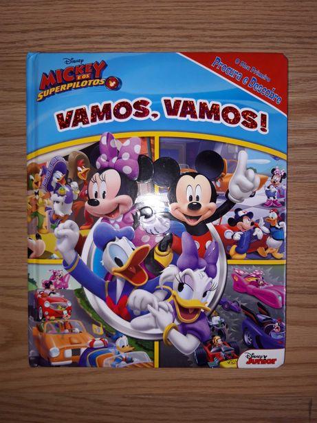 Livros Infantis Vários - Mickey / Litte People / Animais