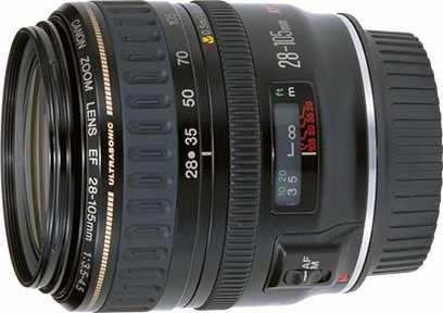 Objetiva Canon EF28-105mm f/3.5-4.5 USM mkII