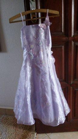 Suknia dla dziewczynki bal wesele 122cm