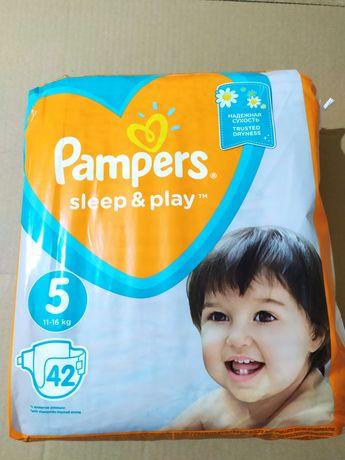 Памперсы 5 pampers sleep play