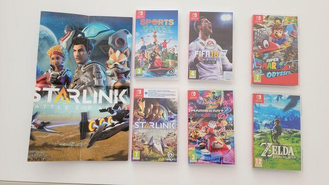Vendo vários jogos para Nintendo Switch