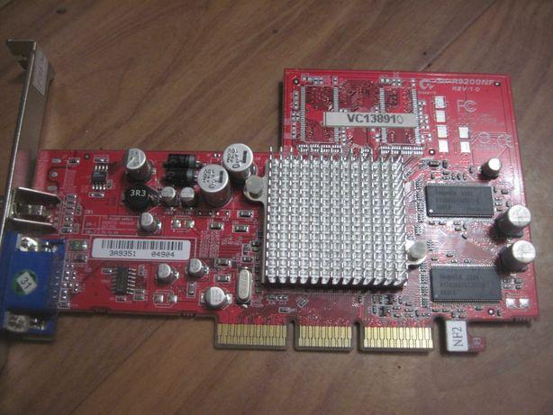 Видео карты AGP 128мб, 64мб