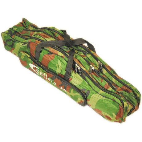 Pokrowiec torba na wędki moro 100 cm 3 komory