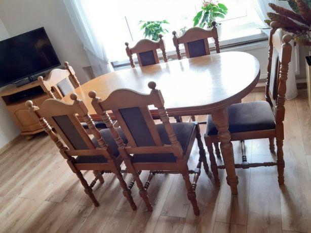 Meble stół krzesła komoda stolik rtv ława