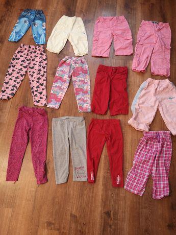 Zestaw spodni dla dziewczynki rozmiar 104 -110