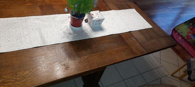 Dębowe Stół Krzesła