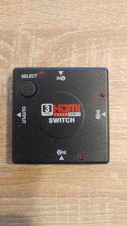 Splitter rozdzielacz hdmi FULL HD 3 IN 1
