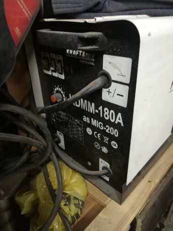 Migomat kraft dele 180A mig/mag/flux