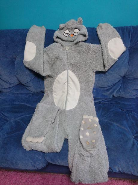 """Кигуруми , пижама человечек """"Совушка """"XS"""