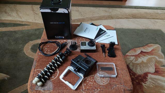 Kamera sportowa GoPro Hero 4 Black, stan bdb, jak nowa, 4K, Full HD