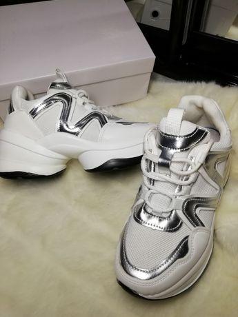 Белые кроссовки р 37