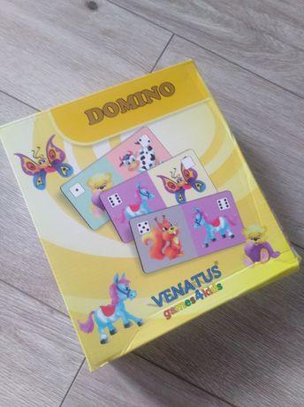 Domino  venatus, gra dla najmłodszych.