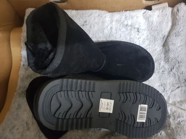 Ocieplane buty damskie dziewczęce  Emu 34
