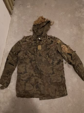 Baza pod maskałate ghillie suit airsoft ASG