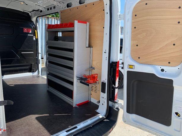 Zabudowa serwisowa warsztatowa 100% aluminium GEMA Transit