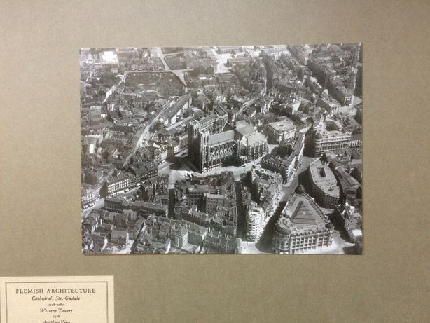 ANTYK Fotografia Bruksela BELGIA Lata 20. XX w. Oryginał! Brussels