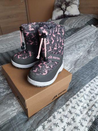 Buty zimowe śniegowce Martes rozmiar 23