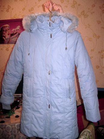 Зимний пуховик для девочки 11-15 лет.