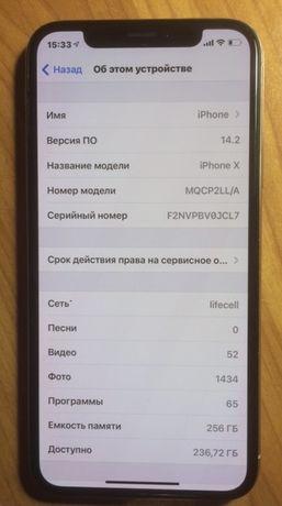 Iphone X 256 gb newerlock