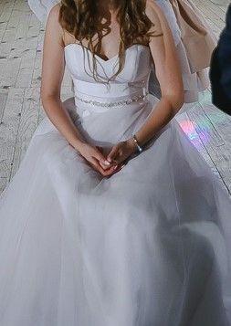 suknia ślubna rozm s kilka wersji jednej sukienki polecam Agnes 16118T