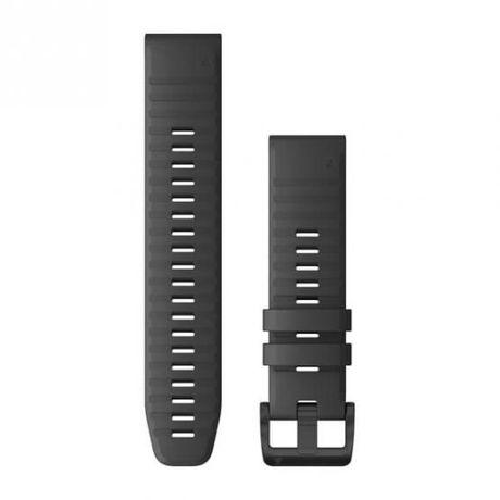 Garmin Pasek Fenix 6 szary - Quick Fit 22 mm, silikonowy Salon Selekt