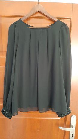 Elegancka bluzka z kryształkami F&F r.40