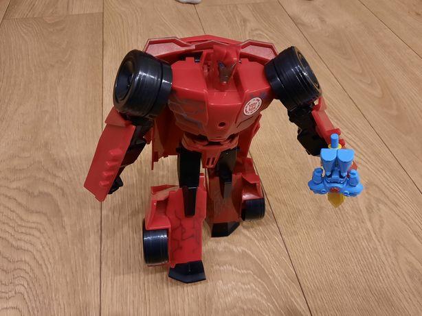 Transformers Sideswipe Hasbro 2w1 Duży robot