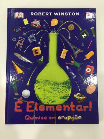 É Elementar - Quimica em erupção