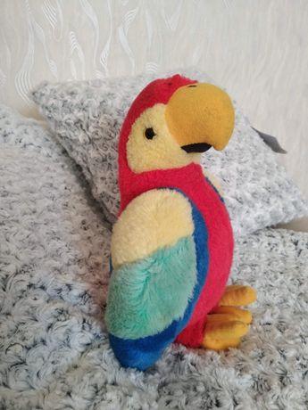 Игрушка мягкая попугай