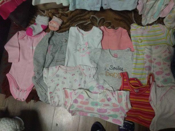 Ubranka dla dziewczynki r. 56-98