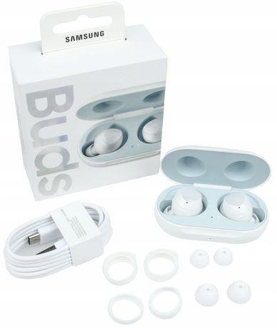 Sluchawki bezprzewodowe Samsung Buds + białe NOWE