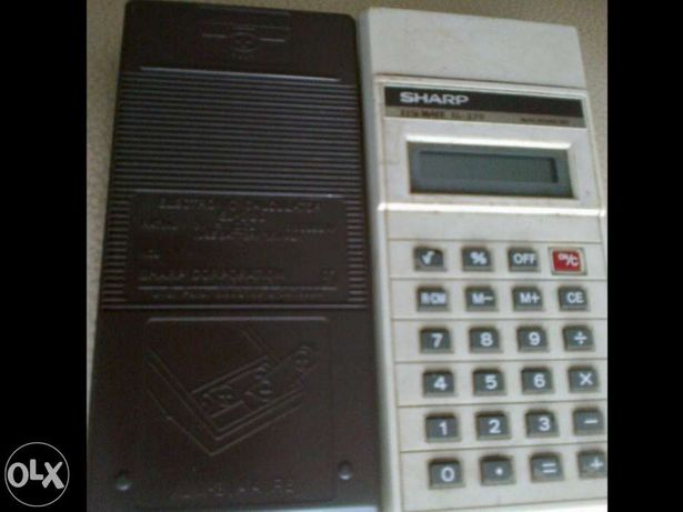 Calculadora sharp elsi mate el-220 (Antiguidade)