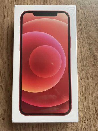 APPLE iPhone 12 64GB, Edição Especial: Vermelho (Selado, Novo)