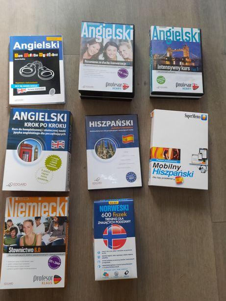 Kursy językowe angielski, hiszpański, niemiecki norweski fiszki
