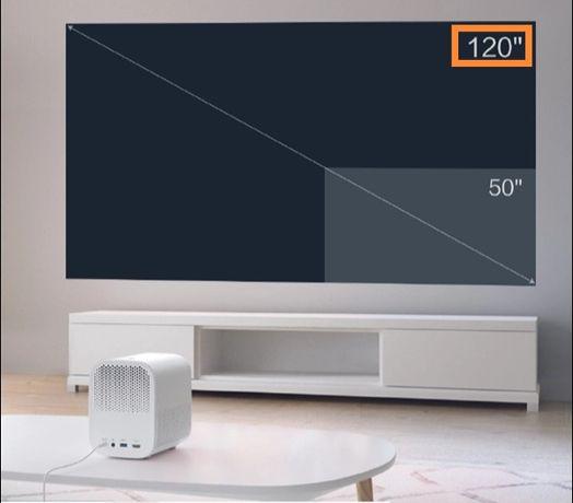 """Лазерный проектор Xiaomi global version 60-120"""" Dolby Atmos 2*10Wt"""